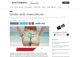 Cellulite verità e falsi miti