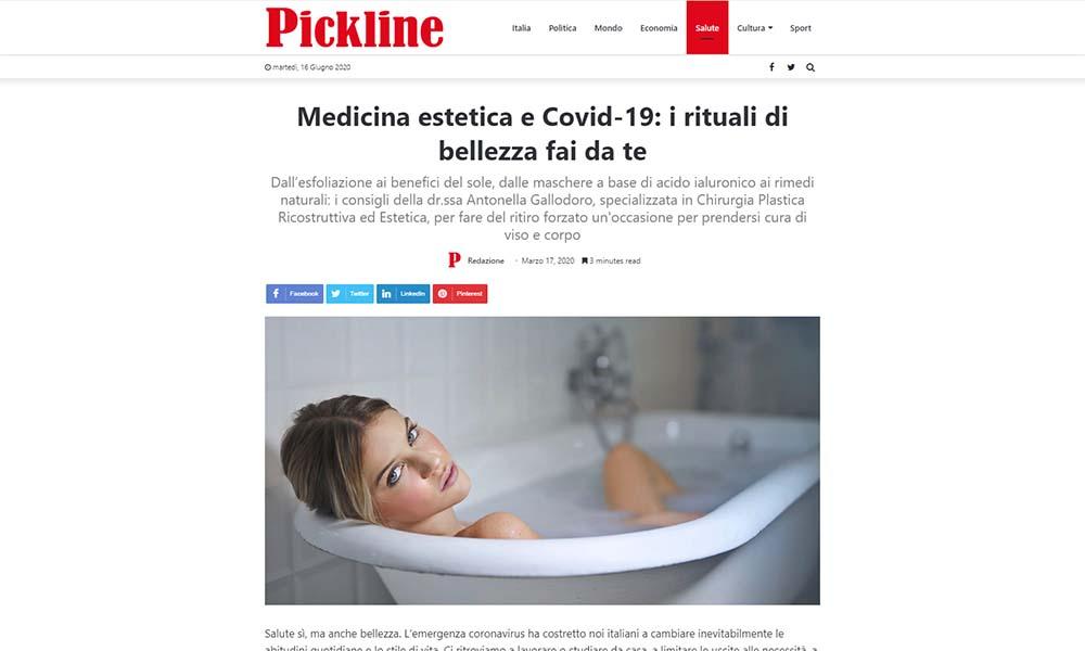 Medicina estetica e Covid-19 i rituali di bellezza fai da te